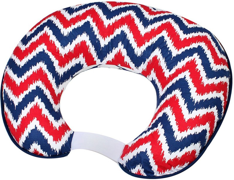 Bacati Geometric Print Feeding/Nursing Pillow(Multicolor)