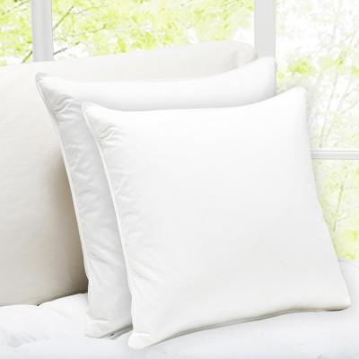 Story@home Plain Chair Cushion(Pack of 2, White)