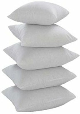 JDX Plain Back Cushion(Pack of 5, White)