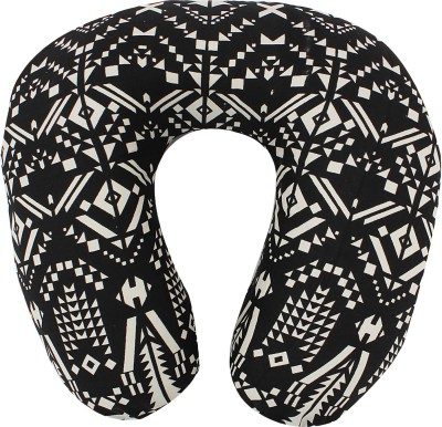 Magasin Abstract Printed U-Shaped Memory Foam Neck Travel Pillow