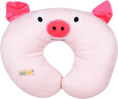 Ole Baby Printed Travel Pillow(Pink)