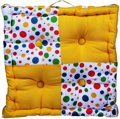 Home Pluss Multi Polka Dots Floor Cushion