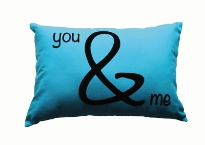 Random in Tandem Abstract Decorative Cushion