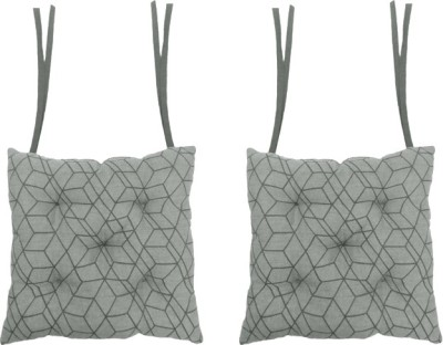 Cotonex Geometric Chair Cushion