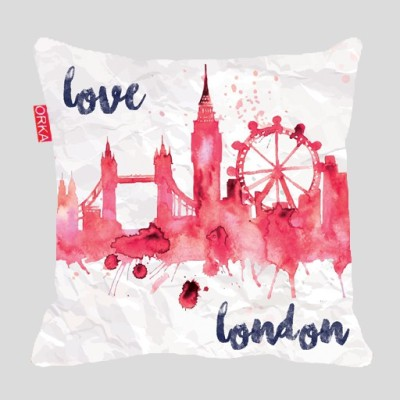 ORKA Printed Travel Pillow