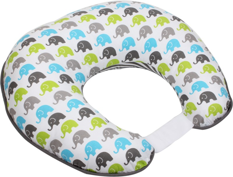 Bacati Animals Feeding/Nursing Pillow(Multicolor)