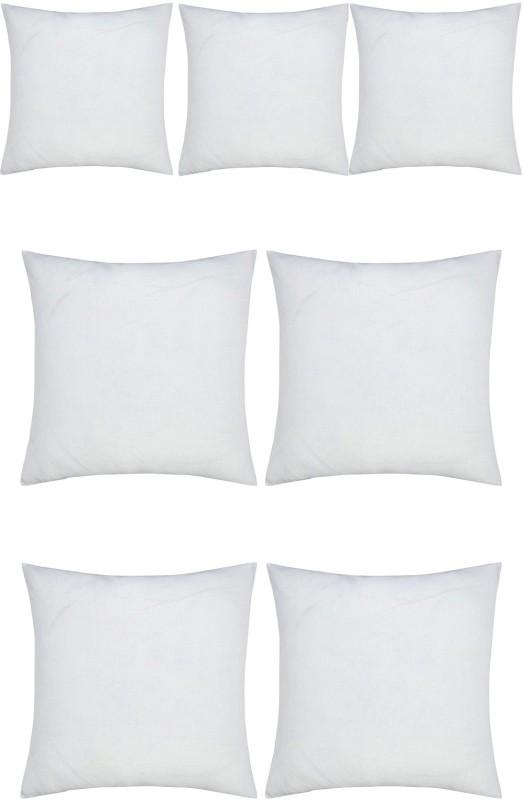 JDX Plain Back Cushion Pack of 7(White)