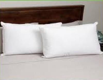 Vibha Creations Plain Bed/Sleeping Pillow