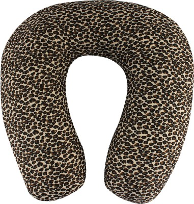 Magasin Leopard Printed U -Shaped Memory Foam Travel Pillow