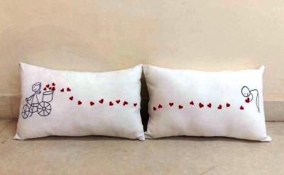 Luxe Beddings & Décor Couple Decorative Cushion