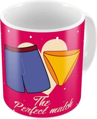 Home India Designer Romantic Printed Coffee  665 Ceramic Mug
