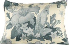 Nostaljia Floral Air Pillow Pack of 1(Grey)