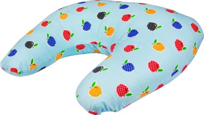 Zura Printed Feeding/Nursing Pillow(Pack of 1, Blue)