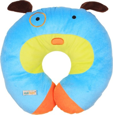 Ole Baby Printed Travel Pillow(Blue)