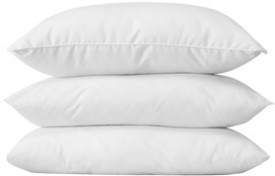 MEHAR HOME Plain Bed/Sleeping Pillow Pack of 3(Multicolor)