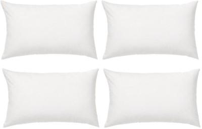 GoldGiftIdeas Plain Bed/Sleeping Pillow(Pack of 4, White)
