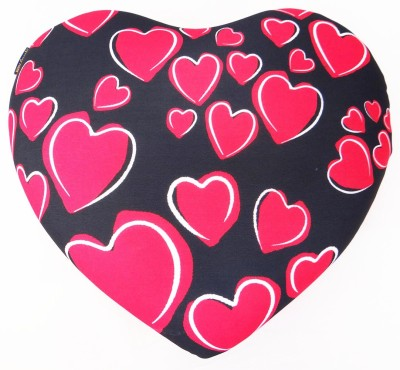 ORKA Micro Beads Printed Heart Cushion Travel Pillow