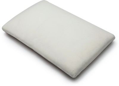 The White Willow Solid Memory Foam Bed/Sleeping Pillow
