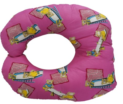 Aarushi Printed Feeding/Nursing Pillow(Pink)
