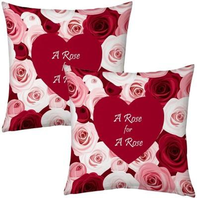Home India Floral Print Decorative Cushion