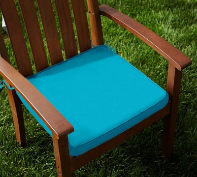 Lushomes Plain Chair Cushion