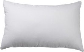 Panipat Textile Hub Plain Bed/Sleeping Pillow(White)