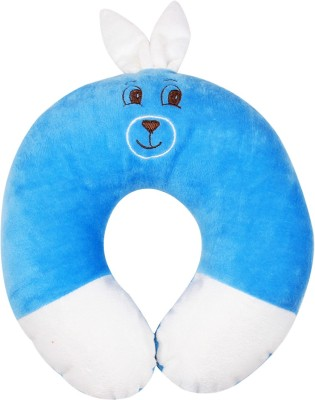 Ole Baby Plain Travel Pillow(Pack of 1, Blue)