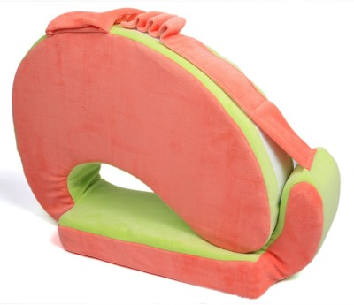 Baby Bucket Plane Feeding/Nursing Pillow(Green, Peach)