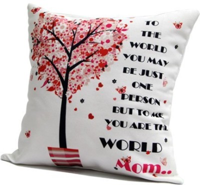 Giftcart Quote Decorative Cushion(Pack of 1, White)