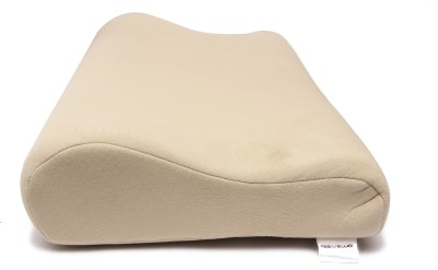 Renewa Plain Bed/Sleeping Pillow(Pack of 1, Multicolor)