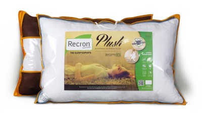 Recron Certified Plain Bed/Sleeping Pillow