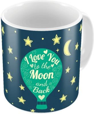 Home India Designer Romantic Printed Coffee s Pair 784 Ceramic Mug