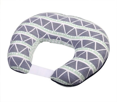 Bacati Triangles Feeding/Nursing Pillow(Multicolor)
