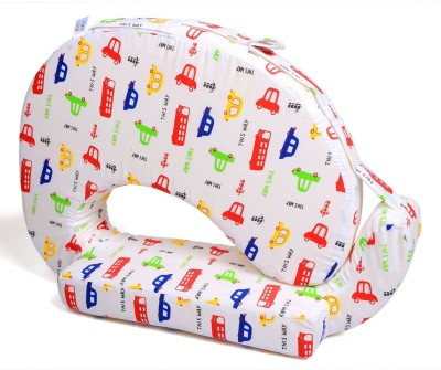 Baby Bucket Prented Feeding/Nursing Pillow(White)