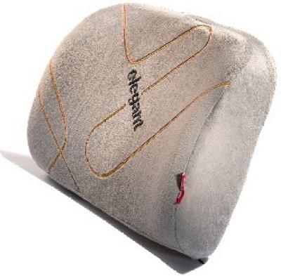 Elegant Memory Foam Lumber Support - Back Cushion (Grey) Back Cushion