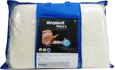 Sleepwell Plain Bed/Sleeping Pillow