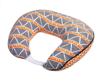 Bacati Triangles Feeding/Nursing Pillow(Orange)