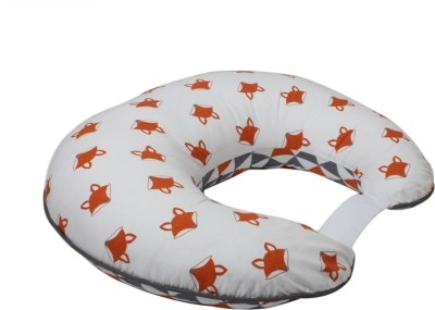 Bacati Fox Feeding/Nursing Pillow(Orange)