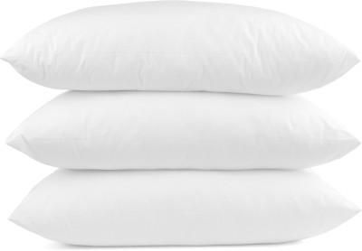 GoldGiftIdeas Plain Bed/Sleeping Pillow(Pack of 3, White)