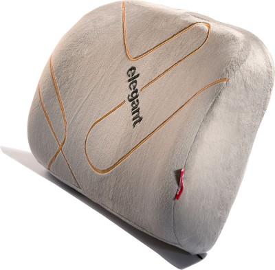 Elegant Memory Foam Lumber Support-Grey Back Cushion