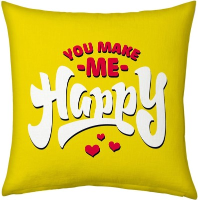 Home India Alphabetics Print Decorative Cushion