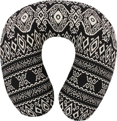 Magasin Printed U -Shaped Memory Foam Neck Travel Pillow