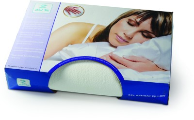 Zyne Solid Bed/Sleeping Pillow