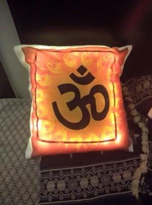 Luxe Beddings & Décor God Decorative Cushion