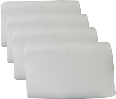 The White Willow Solid Memory Foam Cervical Orthopaedic Pillow