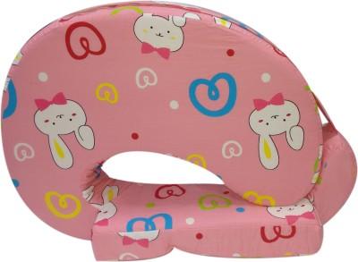 Advance Baby Bunny print full Feeding/Nursing Pillow(Pack of 1, Pink)