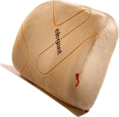 Elegant Memory Foam Lumber Support-Beige Back Cushion