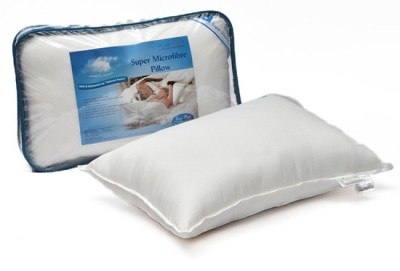 Home Scapes Super Micro Fiber King Pillow (With One Pillow Cover) Bed/Sleeping Pillow