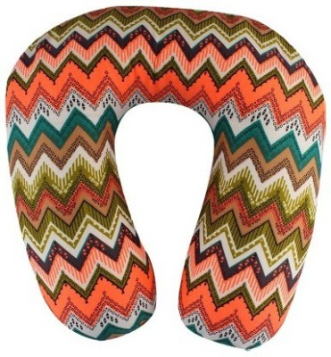 Magasin Aztec Pattern Travel Pillow(Pack of 1, Multi-Colour)