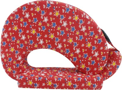 Momtobe Printed Feeding/Nursing Pillow(Pack of 1, Red)